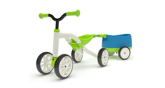 Chillafish Quadie+Trailie - Tricycle Enfant - vert/blanc